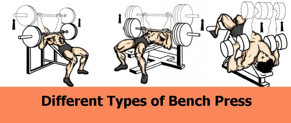 Different Types of Bench Press