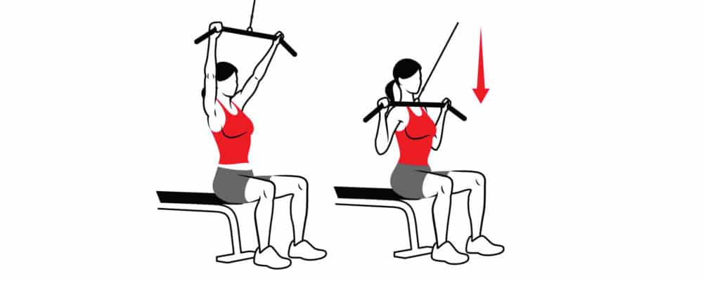 front vs rear lat pull-downs  u2013 which is the superior exercise
