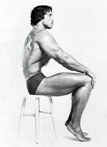 Arnold Schwarzenegger Spot reduction