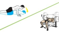 can push ups replace bench press