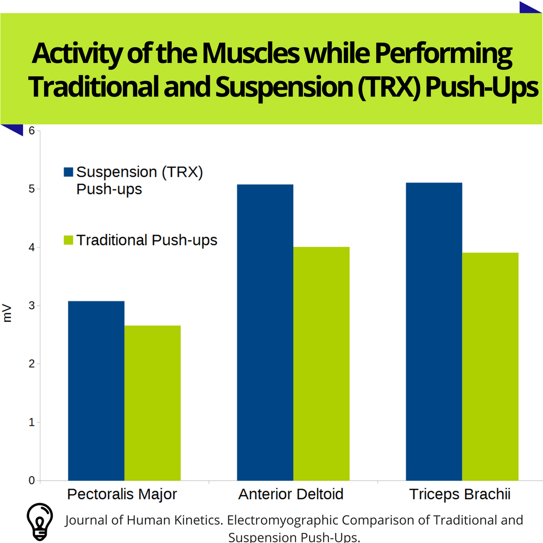 Suspension vs Traditional push ups