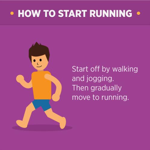 start running