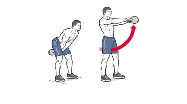 full body kettlebell exercises