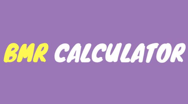 BMR Calculator for Men and Women