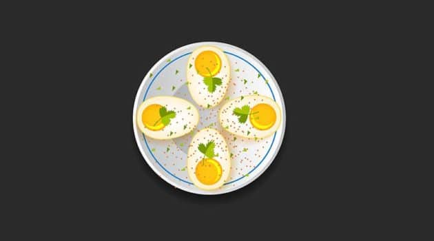 net carbs in eggs